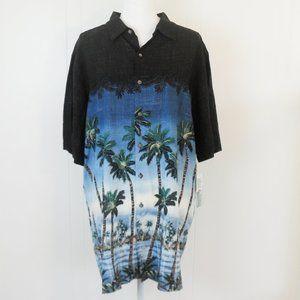 NWT Batik Bay Men's Big & Tall Hawaiin Shirt
